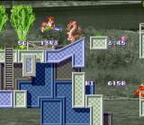 Umihara Kawase SNES You can also use your fishing rod as a weapon.