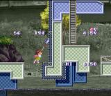 Umihara Kawase SNES Riding the conveyor belt.
