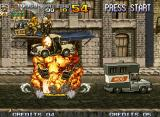 Metal Slug 4 Neo Geo Sometimes, you must destroy cars to gain propulsion and pick hostages and collect bombs or ammo.