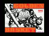 Golden Basket MSX Title screen