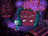 Pajama Sam: No Need to Hide When It's Dark Outside Windows 3.x Win the door's Brain Tickler game to enter
