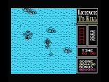 007: Licence to Kill MSX Catch the water plane