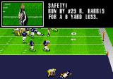 Madden NFL 98 Genesis How can something which gives the opponent points be safe? Strange terminology