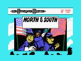 North & South MSX The title screen.