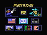 North & South MSX Game Options Select.