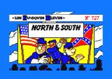 North & South Amstrad CPC The title screen.