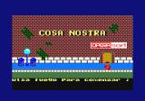 Cosa Nostra Amstrad CPC Title screen