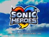Sonic Heroes GameCube Title Screen