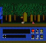 Romancia: Dragon Slayer Jr. NES In the woods