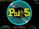 Psi 5 Trading Co. ZX Spectrum Loading screen