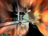 F.E.A.R.: First Encounter Assault Recon Windows Explosion in old warehouse.