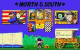 North & South Atari ST Game options Screen