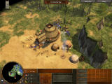 Age of Empires III Windows An indian village.