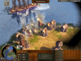 Age of Empires III Windows Attack from the sea.