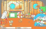 Oliver & Company Atari ST The bonus game - grab those sausages as they fall