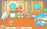 Oliver & Company Atari ST It's a bit like Kaboom!, only with jumping and no instant death