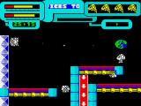 Anfractuos ZX Spectrum The red arrows force you downwards