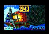 1943: The Battle of Midway Amstrad CPC Loading screen