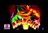 AAARGH! Amstrad CPC Loading screen