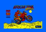 African Trail Simulator Amstrad CPC Title screen