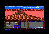 African Trail Simulator Amstrad CPC Don't do motor cycle tricks on the top of an hill