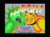 AAARGH! MSX Loading screen