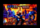After the War Amstrad CPC Title screen