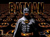 Batman Amiga Loading screen