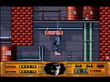 Batman Amiga At the chemical plant, use your bat rope