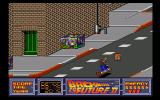 Back to the Future Part II Amiga Reach city hall before Biff's gang gets their hands you