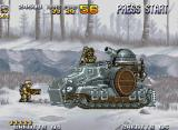 Metal Slug 4 Neo Geo General Morden returns not only with his old bazooka, but bringing with himself a enforced tank too!
