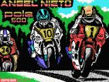 Angel Nieto Pole 500 MSX Loading screen