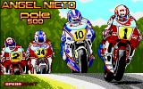 Angel Nieto Pole 500 Amiga Loading screen