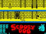 Scooby-Doo ZX Spectrum Game start