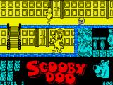 Scooby-Doo ZX Spectrum Dead end, but with a ladder nearby