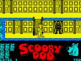 Scooby-Doo ZX Spectrum Those guards look menacing but do nothing