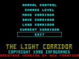 The Light Corridor ZX Spectrum Options