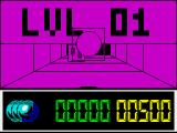 The Light Corridor ZX Spectrum Game start