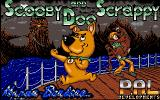 Scooby-Doo and Scrappy-Doo Amiga Loading screen