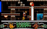 Scooby-Doo and Scrappy-Doo Amiga Knock all monsters out.