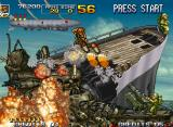 Metal Slug 4 Neo Geo A big submarine aims two guided missiles in Nadia: with this double menace, can she clear Mission 5?