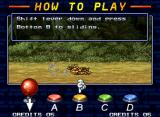 "Metal Slug 5 Neo Geo ""How To Play"" screen: be a good soldier reviewing the classic-basic hints (including a new one)."
