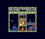 Puyo Puyo Game Boy In-game on Super Game Boy