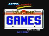 California Games DOS Title screen (CGA with composite monitor)