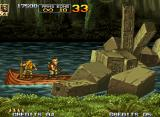 Metal Slug 5 Neo Geo The temple passage is locked due a big amount of blocks: the only way to continue is shoot 'em all!