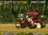 Metal Slug 5 Neo Geo A giant red tank will use flame and multiple gun turret shots to impede that you clear Mission 1!