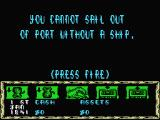 Tai-Pan MSX You 'll have to trade some goods before you can sail port