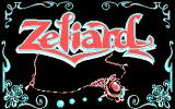 Zeliard DOS Title screen (CGA)