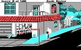 Leisure Suit Larry Goes Looking for Love (In Several Wrong Places) DOS Beginning the game (CGA 4 color)