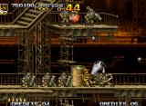 Metal Slug 5 Neo Geo Another enemy formation was composed, but now Tarma doesn't get to avoid that the worst happens...